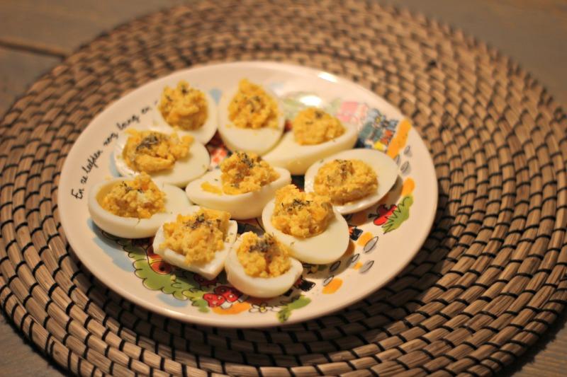 Gevulde ei maar dan gezonder