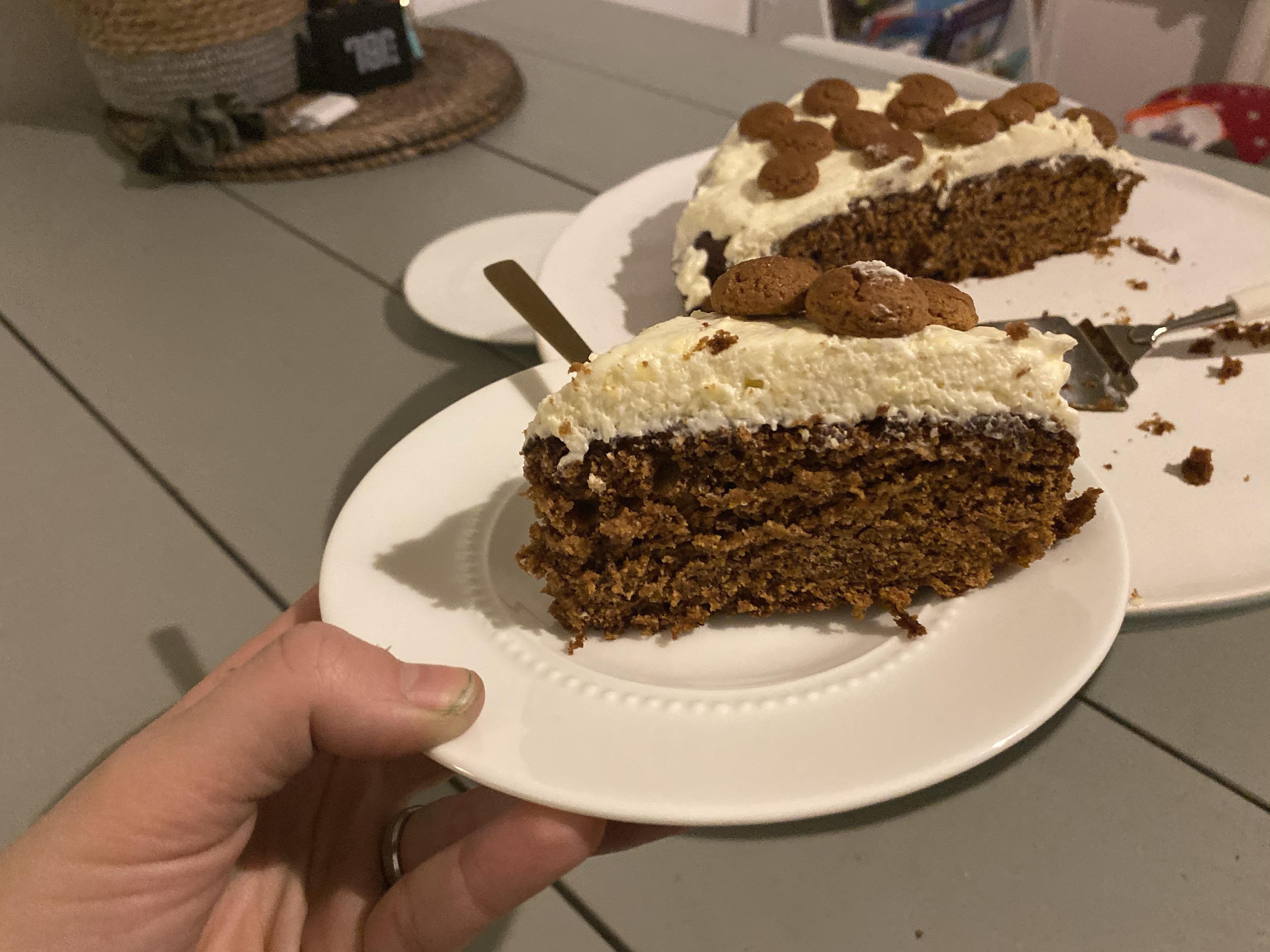 Carrot cake met kruidnoten
