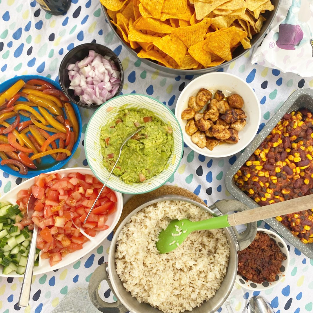 build your own burrito bowl